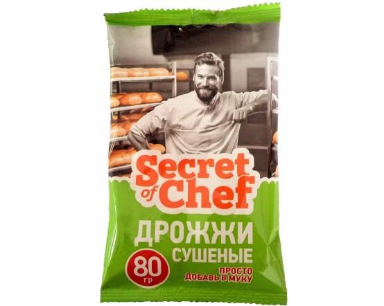 Купить Дрожжи суш Secret of Chef 80гр